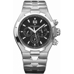 Vacheron Constantin Overseas Mens Chronograph Watch 49150/B01A-9097
