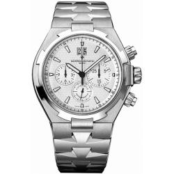 Vacheron Constantin Overseas Mens Steel Bracelet Watch 49150/B01A-9095