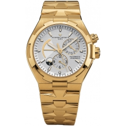 Vacheron Constantin Overseas Gold Bracelet Watch 47450/B01J-9228