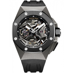 26589IO.OO.D002CA.01 Audemars Piguet Royal Oak Concept Flying Tourbillon GMT Titanium Watch