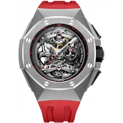 26587TI.OO.D067CA.01 Audemars Piguet Royal Oak Concept Tourbillon Chronograph Openworked Red Watch