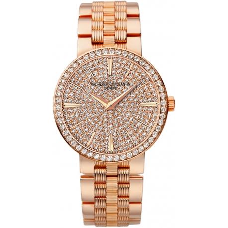 Vacheron Constantin Patrimony Womens Gold Watch 25556/Q01R-9281