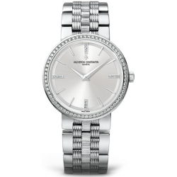 Vacheron Constantin Patrimony Womens Diamond Watch 25557/Q01G-9276