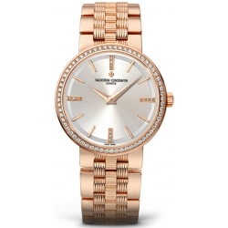 Vacheron Constantin Patrimony Womens Rose Gold Watch 25557/Q01R-9277