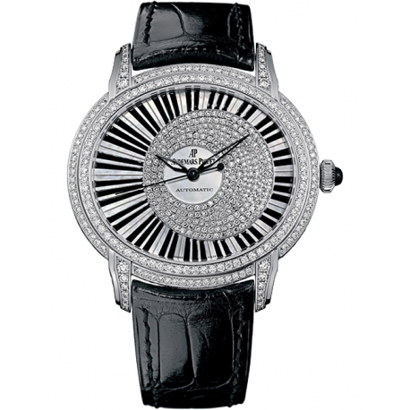 15326BC.ZZ.D102CR.01 Audemars Piguet Millenary Pianoforte 18K White Gold Diamond Watch