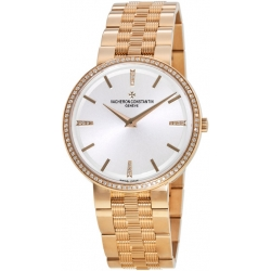 Vacheron Constantin Patrimony Mens Rose Gold Watch 81577/V01R-9271
