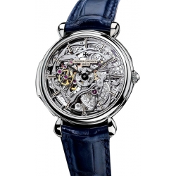 Vacheron Constantin Patrimony Skeleton Dial Mens Watch 30030/000P-8200