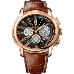 26145OR.OO.D095CR.01 Audemars Piguet Millenary Chronograph 18K Pink Gold Watch