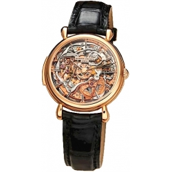 Vacheron Constantin Patrimony Gold Skeleton Mens Watch 30030/000R-8200