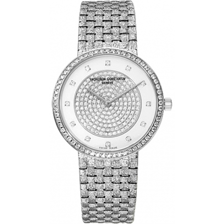 Vacheron Constantin Patrimony Classique Diamond Watch 81562/206G-9156