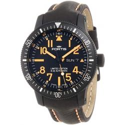 Fortis 647.28.13L.13 B-42 Black Mars 500 Mens Titanium Watch