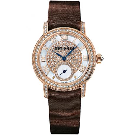 77229OR.ZZ.A082MR.01 Audemars Piguet Jules Small Seconds 18K Pink Gold Watch