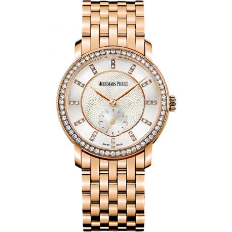 77251OR.ZZ.1270OR.01 Audemars Piguet Jules Small Seconds 18K Pink Gold Watch