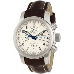 Fortis B-42 Flieger Chronograph Mens Steel Case Watch 635.10.12.L01