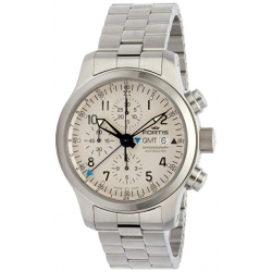 Fortis B-42 Flieger Chronograph Steel Bracelet Mens Watch 637.10.12M