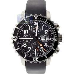 Fortis B-42 Marinemaster Mens Black Dial Watch 671.10.41R