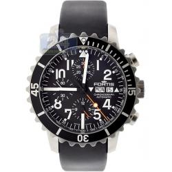 Fortis B-42 Marinemaster Mens Black Dial Watch 671.10.41R