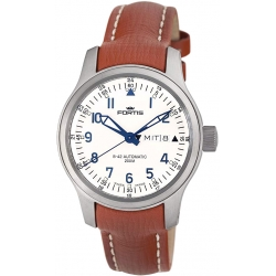 Fortis B-42 Flieger Series Automatic Day Date Mens Watch 645.10.12L08