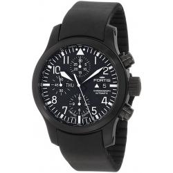 Fortis B-42 Flieger Mens All Black PVD Steel Watch 656.18.81K
