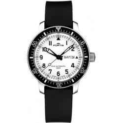 Fortis B-42 Marinemaster Mens White Dial Watch 648.10.12R