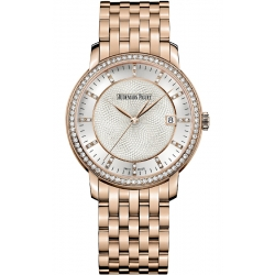 15173OR.ZZ.1270OR.01 Audemars Piguet Jules Selfwinding 18K Rose Gold Diamond Watch