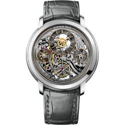 26143PT.OO.D005CR.01 Audemars Piguet Jules Tourbillon Openworked Platinum Watch