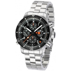 Fortis B-42 Official Cosmonauts Chrono Alarm Watch 639.22.11M