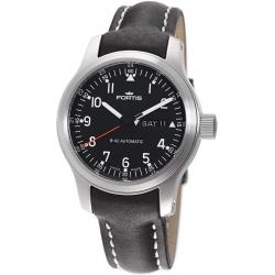 Fortis B-42 Pilot Professional Mens Black Dial Watch 645.10.11L