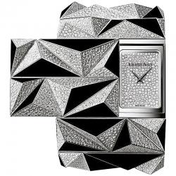 79419BC.ZO.9189BC.01 Audemars Piguet Haute Joaillerie Diamond Punk Onyx Watch