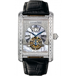 26119BC.ZZ.D002CR.01 Audemars Piguet Edward Large Date Tourbillon Diamond Watch
