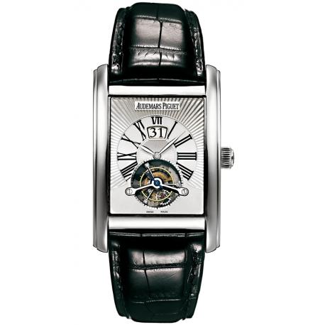 26009BC.OO.D002CR.01 Audemars Piguet Edward Large Date Tourbillon 18K White Gold Watch