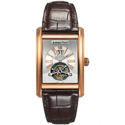 26009OR.OO.D088CR.01 Audemars Piguet Edward Large Date Tourbillon 18K Pink Gold Watch