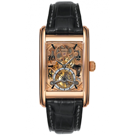 25947OR.OO.D002CR.01 Audemars Piguet Edward Tourbillon Skeleton 18K Pink Gold Watch