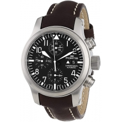 Fortis B-42 Flieger Mens Steel Swiss Automatic Watch 656.10.11L08