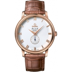 Omega De Ville Co-Axial Small Seconds Rose Gold Watch 4614.20.02