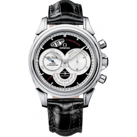 Omega De Ville Co-Axial Chronoscope Mens Steel Watch 4850.50.31
