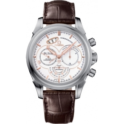Omega De Ville Co-Axial Chronoscope Mens Steel Watch 422.13.41.50.04.002