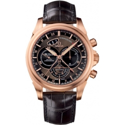Omega De Ville Co-Axial Chronoscope Mens Rose Gold Watch 422.53.44.52.13.001