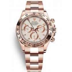 Rolex Cosmograph Daytona Everose Gold Ivory Dial Watch 116505