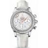 Omega De Ville Co-Axial Chrono Diamond Watch 422.18.35.50.05.001