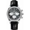 Omega De Ville Co-Axial Chrono Diamond Watch 422.18.35.50.06.001