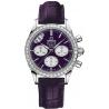 Omega De Ville Co-Axial Chrono Purple Watch 422.18.35.50.10.001