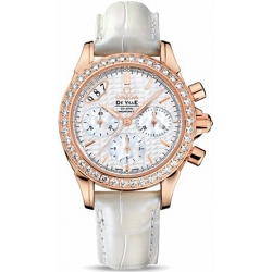 Omega De Ville Co-Axial Womens Rose Gold Diamond Watch 422.58.35.50.05.001