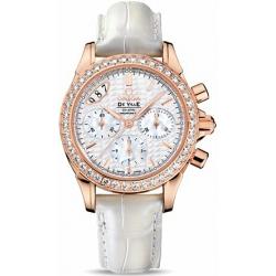 Omega De Ville Co-Axial Womens Rose Gold Diamond Watch 422.58.35.50.05.001