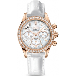 Omega De Ville Co-Axial Womens Diamond Watch 422.58.35.50.05.002