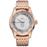 Omega De Ville Hour Vision Gold Bracelet Watch 431.60.41.21.02.001