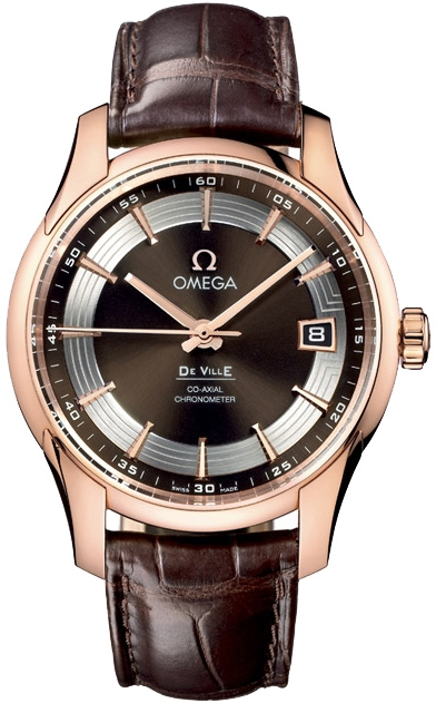 Omega De Ville Hour Vision Rose Gold Watch 431 63 41 21 13 001