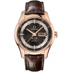 Omega De Ville Hour Vision Annual Calendar Gold Watch 431.63.41.22.13.001