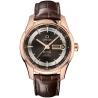 Omega De Ville Hour Vision Calendar Gold Watch 431.63.41.22.13.001