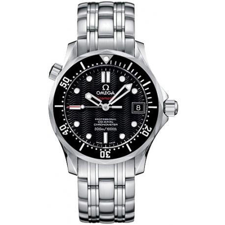 Omega Seamaster 300m Black Dial Steel Watch 212.30.36.20.01.001
